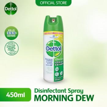 Dettol Disinfectant Morning Dew Spray 450ml