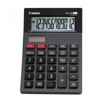 Canon AS-120 Arc Design Desktop 12 Digits Calculator