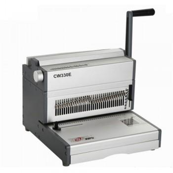 SUPU CW330E Electric Wire O Punching & Manual Binding Machine Type 3:1 pitch