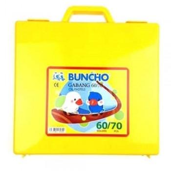 Buncho Gabang Oil Pastel - 60 Colors
