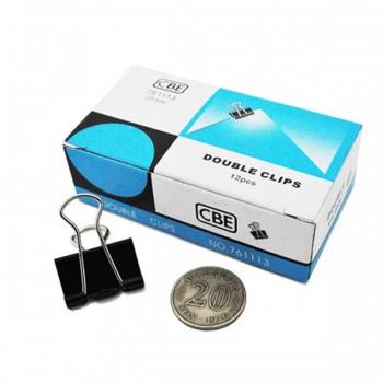CBE 761113 25MM Double Clip 12pcs/box [220092882]