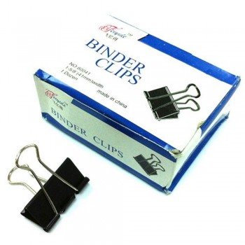 Binder Clips - 41mm, 1 dozen / box