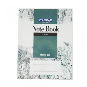 Campap Cw2303 F5 Pvc Cover Note Book 240P (Item No: NB-0013)