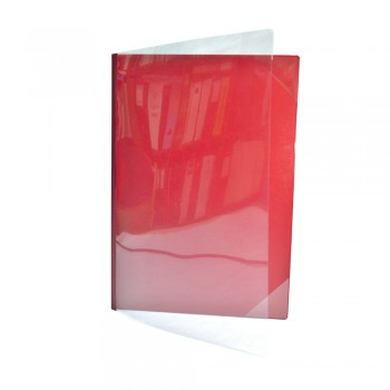 521A Certificate Holder with Transparent - Maroon
