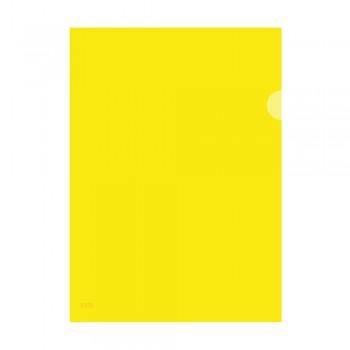 L Shape Transparent (Yellow) Document Holder File A4 Size