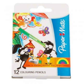 Papermate Colouring Pencils - 12S (Item No: A04-24) A1R1B200