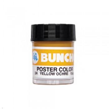 Buncho PC15CC Poster Color 24 Yellow Ochre - 6/Box