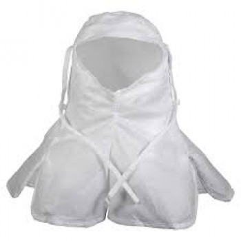 KIMTECH PURE* A5 CLEAN PROCESSED CLEANROOM HOODS WITH TIES
