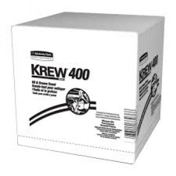 KREW* 400 OIL AND GREASE SHOP TOWELS