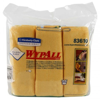 WYPALL® MICROFIBER CLOTHS WITH MICROBAN® PROTECTION
