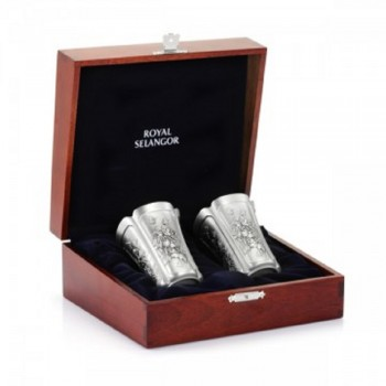 Royal Selangor ~Beaker Pair In Gift Boxed 2419G