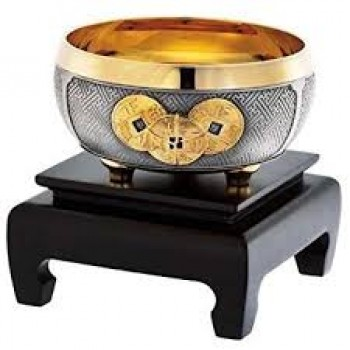 Royal Selangor ~Bowl Gold Plated Wealth Bowl 4368E