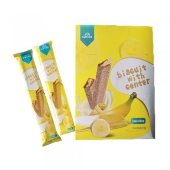 Suntree Biscuit Banana 13 g - 24pcs