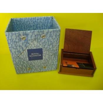 Royal Selangor ~Card Holder Trinket Box 6269R