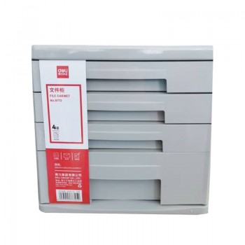 Deli 4 Document Tray (Grey) 9772GY