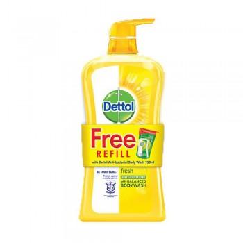 Dettol Shower Gel Fresh 950ml + 250ml