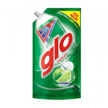 Glo Pekat Lime Dishwashing Liquid 850ml Refill