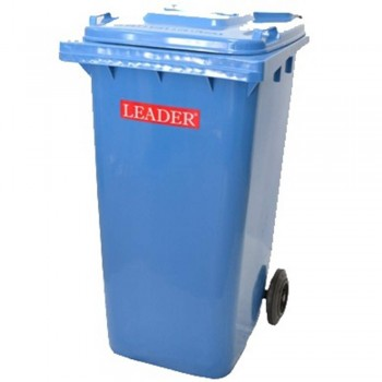LEADER Mobile Garbage Bins BP 120 Blue