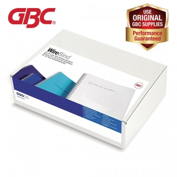 GBC WireBind 34 Loops - 12mm, A4, 115 Sheets, Silver