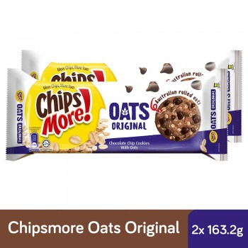 Chipsmore Oats Original Cookies (163.2g x 2)