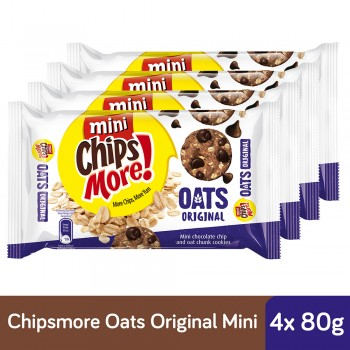 Chipsmore Oats Original Cookies (80g x 4)