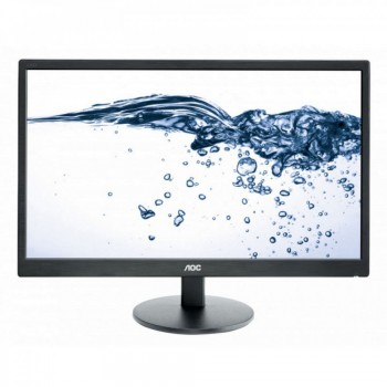 "AOC e2470swh 23.6"" FHD Monitor Black - 1920 x 1080 Resolution, 1ms, 20M:1"