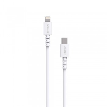 Anker PowerLine Select USB-C to Lightning Connector Cable White (0.9M)