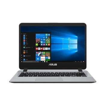 "Asus Vivobook A407M-ABV036T 14"" HD Laptop - Celeron N4000, 4gb ddr4, 500gb hdd, Intel, W10, Grey"