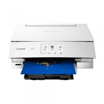 Canon Pixma TS8370 Wireless Photo All-In-One Inkjet Printer and Auto Duplex Printing - White