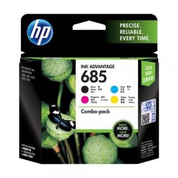 HP 685 Value Pack Ink Cartridge (CMYK)