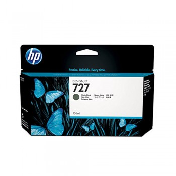 HP 727 130-ml Matte Black DesignJet Ink Cartridge (B3P22A)