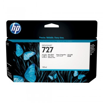 HP 727 130-ml Photo Black DesignJet Ink Cartridge (B3P23A)
