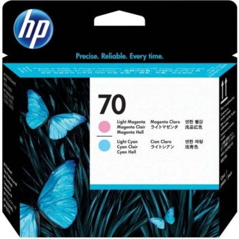 HP 70 DesignJet Printhead - L.Cyan/L.Magenta (C9405A)