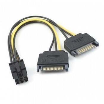 6 PIN Power Cable to Sata PCIe (F2712/ S161)