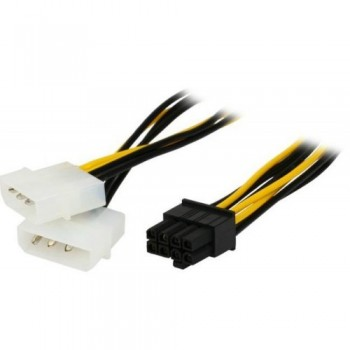 8 PIN (F) to 2 X 4 PIN (M) Power Cable (S263)