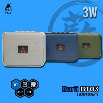 OXA Buru BT03 Speaker - Green