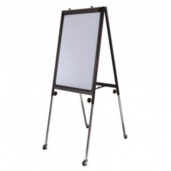 Conference Flip Chart FC23R - 111-198H x 66W x 61-98D - Black (Item No: G05-05)
