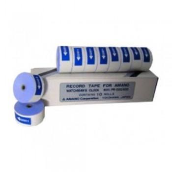 Amano Paper Tape (10 rolls) - Watchman's Clock