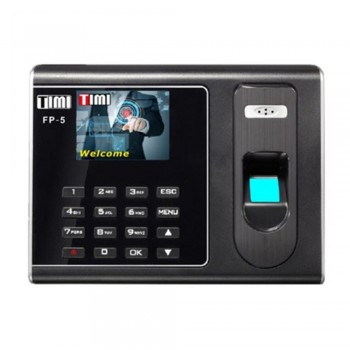 Timi FP-5 Self Fingerprint Time Attendance