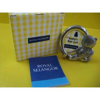 Royal Selangor ~ Baby First Curl Photoframe (2R) 3570R