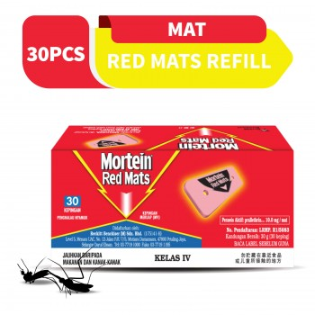 Mortein Red Mats Refill 30 pieces