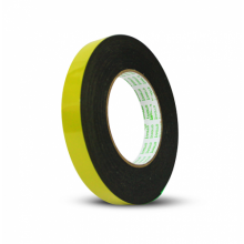 Apollo Double Sided General Purpose Black Foam Tape - 18mm x 9m