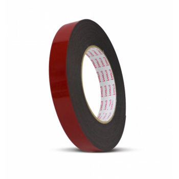 Apollo Heavy-Duty Double Sided PE Black Foam Tape - 12mm x 8M