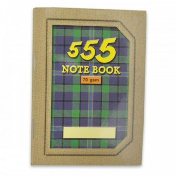 555 Captain Note Book-Thick (Light brown) NB-0130-LB