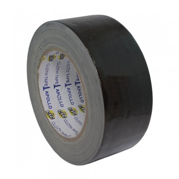 Apollo Premium Cloth Tape 24mm x 6yards Black