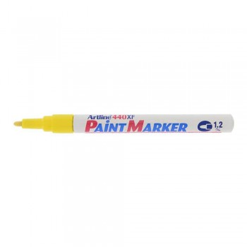 Artline 440XF Paint Marker 1.2mm - Yellow