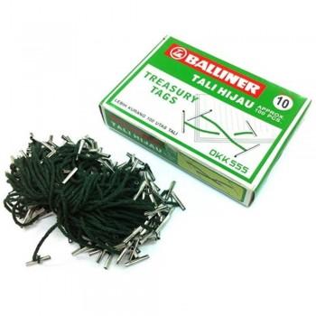 Treasury Tags / Tali Hijau - 10