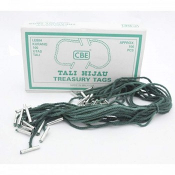 CBE Treasury Tags 12T (Item No: B10-159) A1R4B34