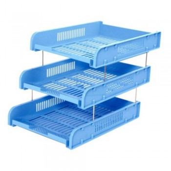 CBE 8012-3 ABS DOCUMENTARY TRAY-BLUE ( ITEM NO : B10 30 BL )