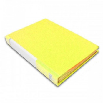 CBE 76060 Clear Holder A4 size - Yellow (Item No: B10-12 Y) A1R5B18